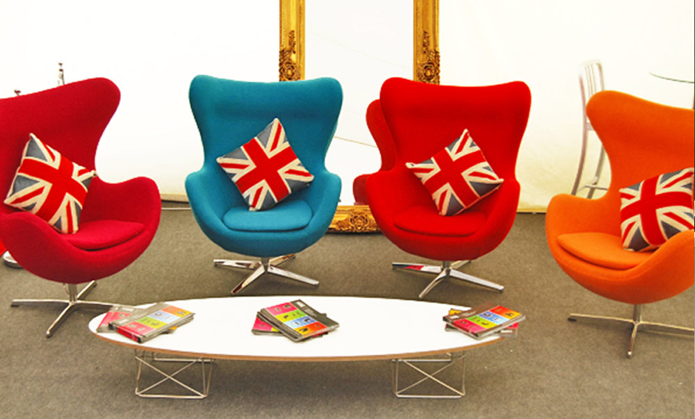 Union Jack Printed Furnishings